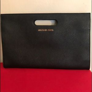 Michael Kors Black classic clutch